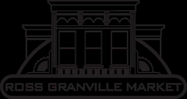 A logo of Ross Granville Market